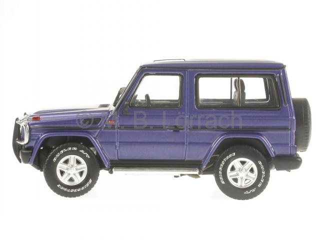 mercedes bm463 g klasse stationkurz blau modellauto 56101. Black Bedroom Furniture Sets. Home Design Ideas