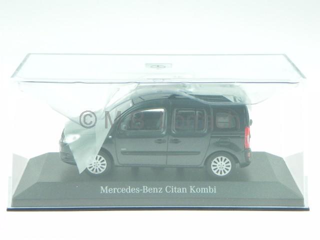 mercedes benz citan kombi grau modellauto minichamps 1 43. Black Bedroom Furniture Sets. Home Design Ideas