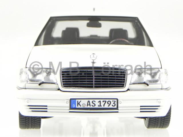 Mercedes w140 s600 s klasse weiss modellauto 183562 norev for Mercedes benz s600 ebay