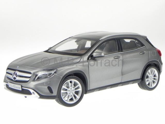 mercedes x156 gla class grey diecast model car norev 1 18 ebay. Black Bedroom Furniture Sets. Home Design Ideas