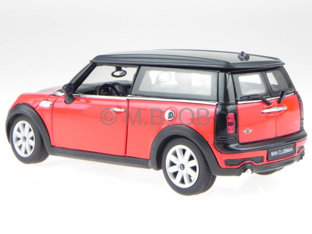 mini cooper clubman rot modellauto 3700 rastar 1 24 ebay. Black Bedroom Furniture Sets. Home Design Ideas