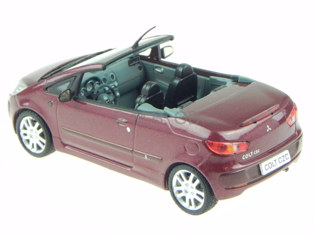 mitsubishi colt czc cabrio rot modellauto vitesse 1 43 ebay. Black Bedroom Furniture Sets. Home Design Ideas