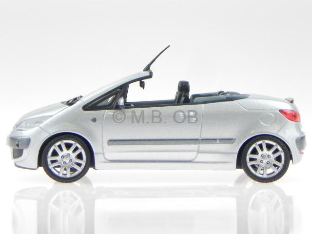 mitsubishi colt czc cabrio silber modellauto vitesse 1 43. Black Bedroom Furniture Sets. Home Design Ideas