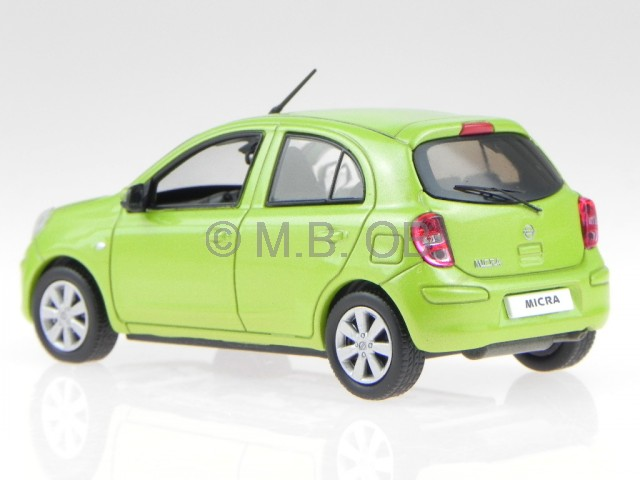 nissan micra march 2010 green diecast model car jc201 j collection1 43 ebay. Black Bedroom Furniture Sets. Home Design Ideas