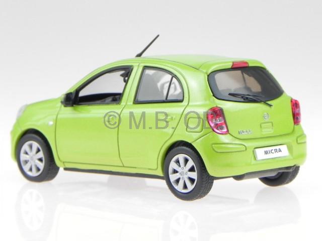 nissan micra march 2010 green diecast model car jc201 j collection1 43 ebay. Black Bedroom Furniture Sets. Home Design Ideas