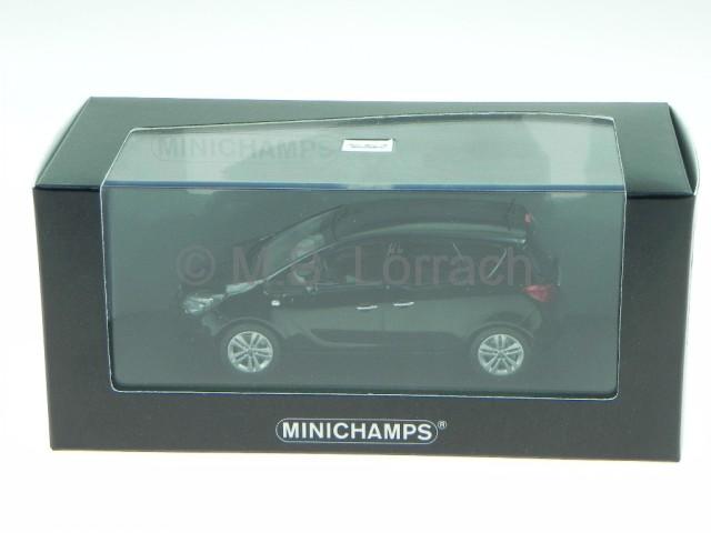 opel meriva 2012 nero modellino 400040005 minichamps 1 43 ebay. Black Bedroom Furniture Sets. Home Design Ideas