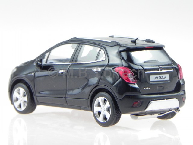 opel mokka 2012 schwarz modellauto 410042101 minichamps 1 43 ebay. Black Bedroom Furniture Sets. Home Design Ideas