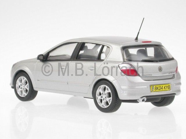 opel astra h vauxhall silver diecast model car vanguards 1. Black Bedroom Furniture Sets. Home Design Ideas
