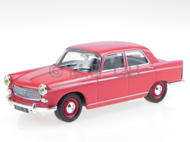 Peugeot-404-1960-red-diecast-model-car-1-43