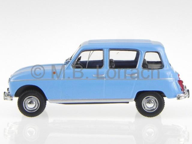 renault 4 r4 1964 hell blau modellauto 1 43 ebay. Black Bedroom Furniture Sets. Home Design Ideas