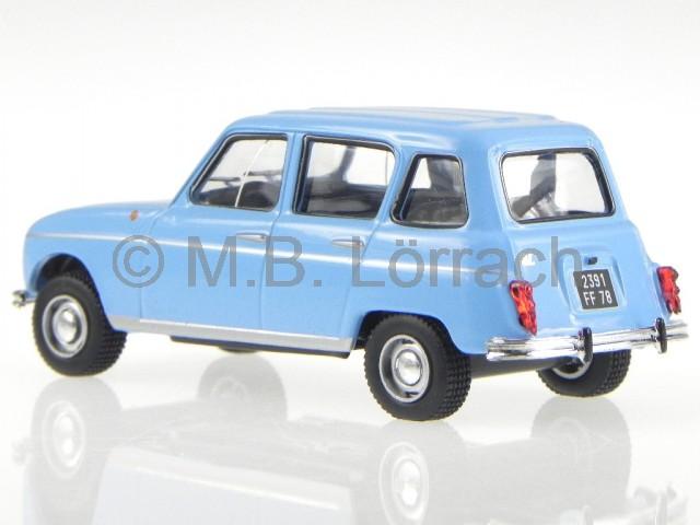 Renault 4 R4 1964 Hell Blau Modellauto 1 43 Ebay