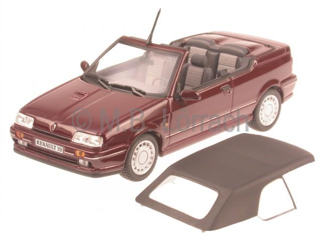 renault 19 r19 cabrio viola modellauto norev 1 43 ebay. Black Bedroom Furniture Sets. Home Design Ideas