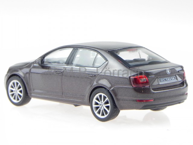 skoda octavia 3 2013 platin grau modellauto 143ab 026cj abrex 1 43 ebay. Black Bedroom Furniture Sets. Home Design Ideas