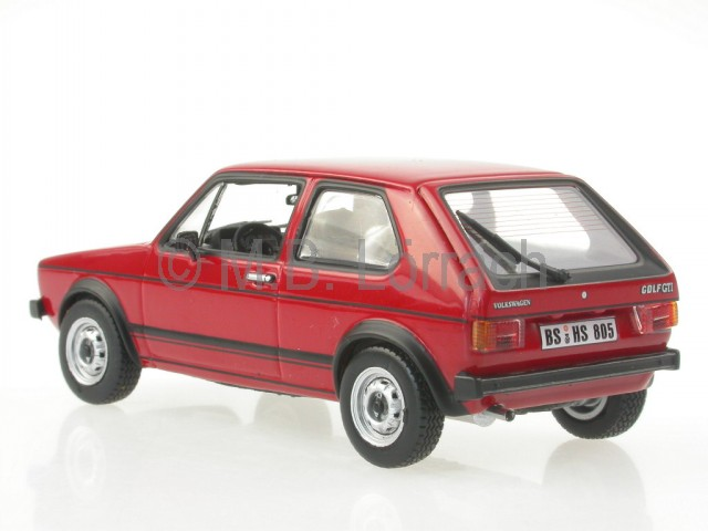 vw golf 1 gti 1976 rot modellauto 840046 norev 1 43 ebay. Black Bedroom Furniture Sets. Home Design Ideas