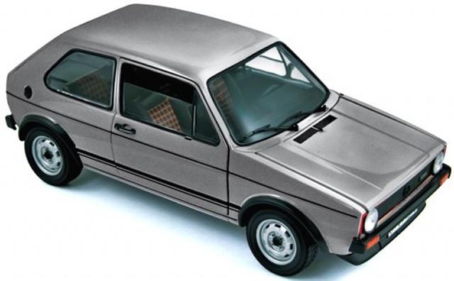 vw golf 1 gti silber 1976 modellauto 188486 norev 1 18 ebay. Black Bedroom Furniture Sets. Home Design Ideas