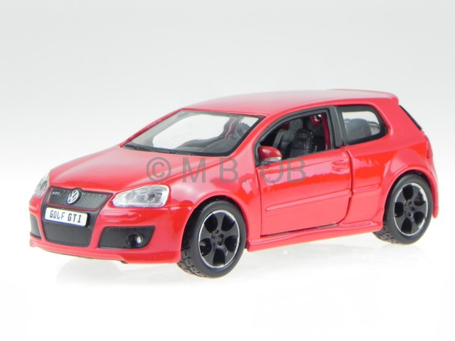vw golf 5 gti edition 30 red modelcar 43005 bburago 1 32 ebay. Black Bedroom Furniture Sets. Home Design Ideas