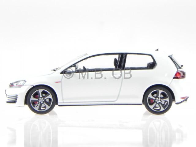 vw golf 7 gti 2 door 2013 onyx weiss perleffekt modellauto. Black Bedroom Furniture Sets. Home Design Ideas