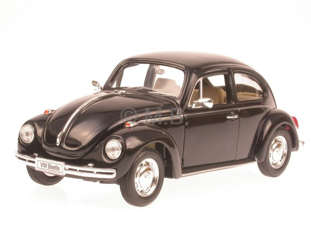 vw k fer 1967 black diecast model car welly 1 24 ebay. Black Bedroom Furniture Sets. Home Design Ideas