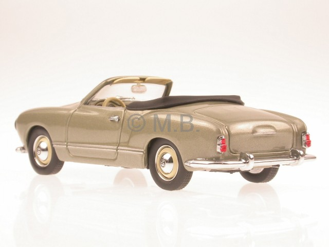 vw karmann ghia convertible diecast model car minichamps 1. Black Bedroom Furniture Sets. Home Design Ideas
