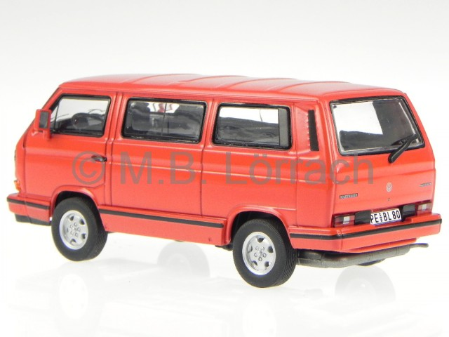 vw t3b multivan redstar bus bulli modellauto premium. Black Bedroom Furniture Sets. Home Design Ideas