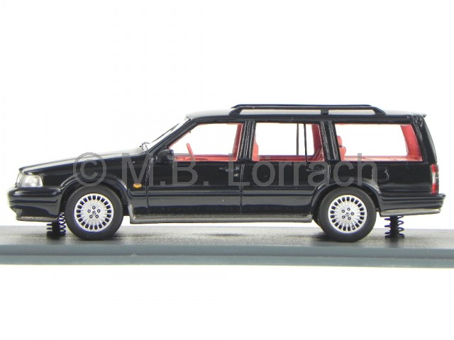 volvo 960 estate black diecast model car 43618 neo 1 43 ebay. Black Bedroom Furniture Sets. Home Design Ideas