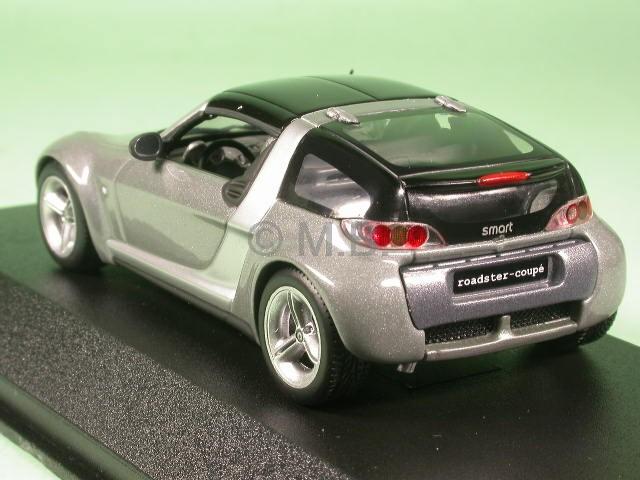 smart roadster coup glancegrey diecast model car. Black Bedroom Furniture Sets. Home Design Ideas