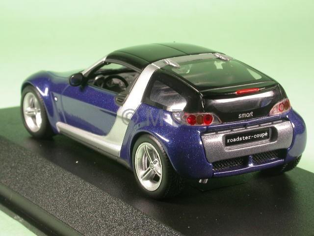 smart roadster coup starblue diecast model car minichamps. Black Bedroom Furniture Sets. Home Design Ideas